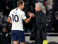 Jose Mourinho, right, says Harry Kane's latest injury is not as big a setback for Tottenham as the one the England captain suffered last year (John Walton/PA)