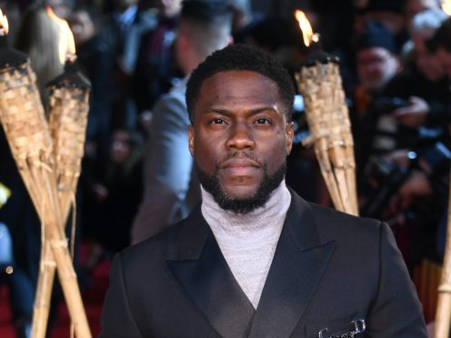 Kevin Hart was among the celebrities condemning the extraordinary scenes in Washington DC (Matt Crossick/PA)