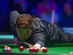 Yan Bingtao produced a break of 141 to beat Stephen Maguire in a decider (Zac Goodwin/PA)