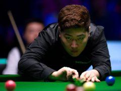 Yan Bingtao stunned Neil Robertson to reach the last eight on his Masters debut (Zac Goodwin/PA)
