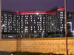 The Queen Elizabeth University Hospital and Royal Hospital for Children and Young People are being investigated (Andrew Milligan/PA)