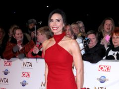 Christine Lampard is expecting her second child with footballer husband Frank (Isabel Infantes/PA)