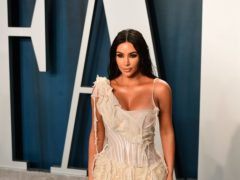 An emotional Kim Kardashian West wrapped filming on the family's reality TV show (Ian West/PA)