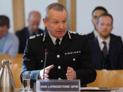 The chief constable urged people not to 'make inferences that are not clearly there' when viewing things online (Scottish Parliament/PA)