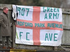 National League North action, including matches involving Bradford Park Avenue, is on hold (Dave Howarth)