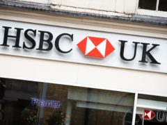 HSBC is set to close 82 bank branches in 2021 (Aaron Chown/PA)