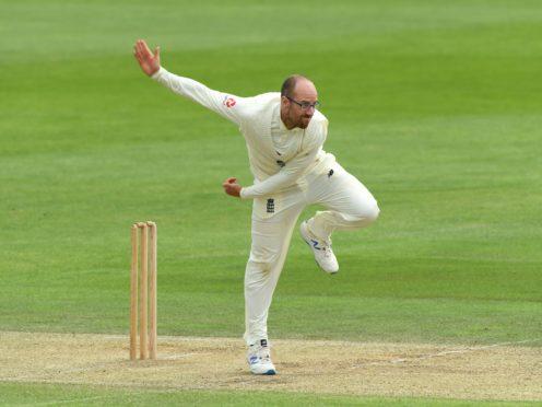 Jack Leach took a wicket on day three in Sri Lanka (Stu Forster/PA)