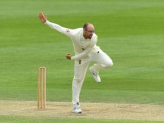 Jack Leach is happy to be back playing Test cricket (Stu Forster/Pool/PA)