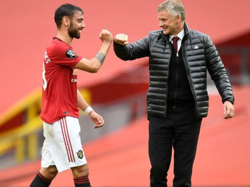 Bruno Fernandes has been superb since joining Manchester United (Peter Powell/PA)