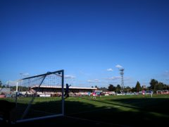 Boreham Wood are preparing for one of the biggest games in their history (John Walton/PA)