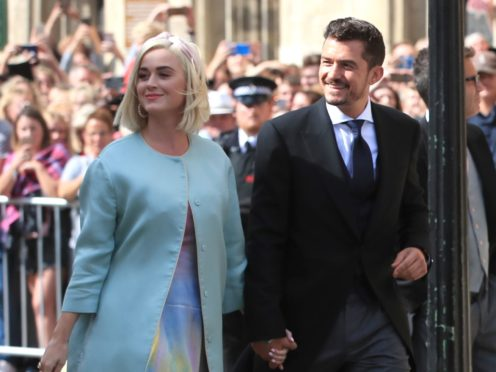 Katy Perry and Orlando Bloom have a daughter together (Peter Byrne/PA)