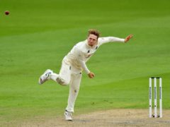Dom Bess took four wickets for England (Dan Mullan/PA)