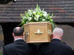 New figures suggest that more deaths were registered in England and Wales in 2020 than in any year since 1918 (PA)