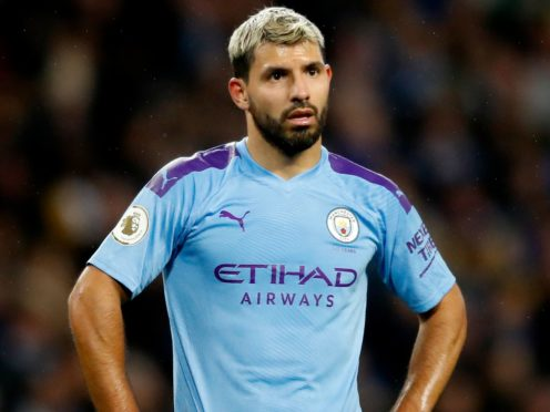 Sergio Aguero could start for Manchester City against Birmingham (Martin Rickett/PA)