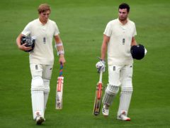 Zak Crawley (left) and Dom Sibley (right) earned Joe Root's praise despite a lack of runs in Galle (Stu Forster/Pool).