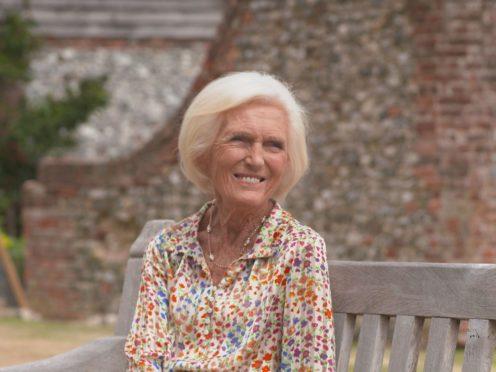 Mary Berry has received the coronavirus vaccine (BBC/PA)