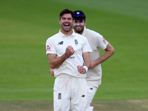 James Anderson was back on centre stage in Galle (Mike Hewitt/PA)