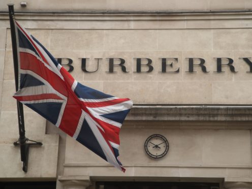 The Burberry group currently has 15% of its stores closed globally (Yui Mok/PA)