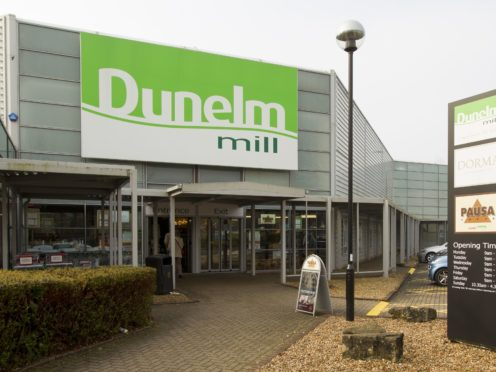 Dunelm has seen a surge in sales despite remaining closed during lockdown (Chris Ison/PA)