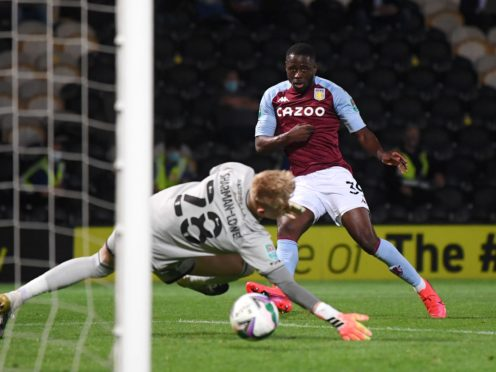 Aston Villa's Keinan Davis could be allowed to leave on loan this month (Laurence Griffiths/PA)