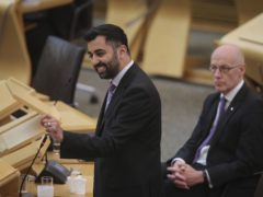 Justice Secretary Humza Yousaf claimed an independent Scotland within the EU would have better security arrangements (Fraser Bremner/Scottish Daily Mail/PA)