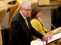 Constitution Secretary Mike Russell had previously stated that another vote could happen this year (Jane Barlow/PA)
