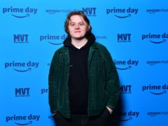 Lewis Capaldi had the top-performing album (Mark Runnacle/PA)