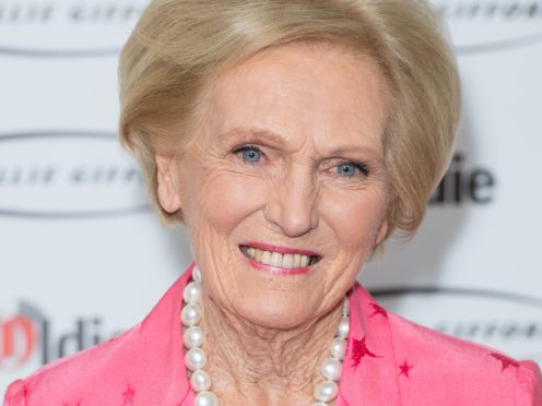 Dame Mary Berry says the pandemic has made us more pragmatic with our food (Dominic Lipinski/PA)
