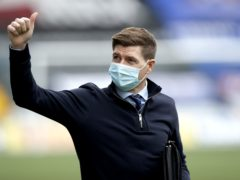 Rangers manager Steven Gerrard is looking forward to a bright future at Ibrox (Steve Walsh/PA)
