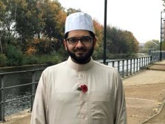 Imam Qari Asim said he had noticed a 'slow take-up' of vaccines within Muslim and ethnic minority communities (Henry Clare/PA)