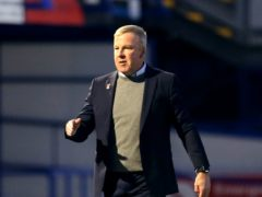 Kenny Jackett's Portsmouth edged victory at Fleetwood (Steven Paston/PA)