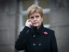 Nicola Sturgeon worked on Kay Ullrich's 1987 general election campaign (Jane Barlow/PA)