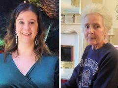 BEST QUALITY AVAILABLE Undated handout photos issued by Sussex Police of Amy Appleton, 32,(left) and Sandy Seagrave, 76, who were both killed outside a semi-detached house in a quiet street in Crawley Down on December 22 2019 (Sussex Police/PA)
