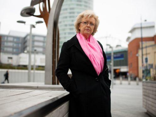 Julie Hambleton has said she will not pay the Covid fine.(Jacob King/PA)