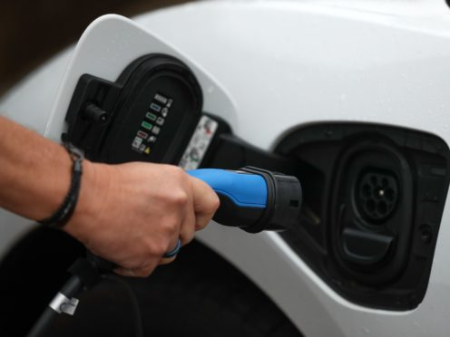 Nearly four out of five drivers (78%) think pure electric cars are too expensive, according to a new survey (Andrew Matthews/PA)
