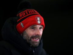 Paul Warne's 200th game in charge of Rotherham ended in a 3-3 draw with Stoke (Nick Potts/PA)