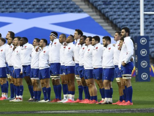 France's involvement in the Six Nations is in doubt (Ian Rutherford/PA)