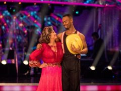 Caroline Quentin was partnered with Johannes Radebe on the latest series of Strictly (Guy Levy/BBC)