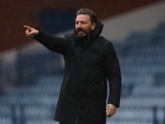 Derek McInnes has his eyes on further Aberdeen improvement (Andrew Milligan/PA)