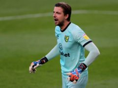 Norwich goalkeeper Tim Krul is set to return after missing two games through coronavirus (Richard Sellers/PA)