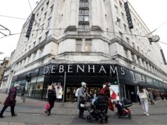 Boohoo has bought the Debenhams brand for £55m (Martin Rickett / PA)