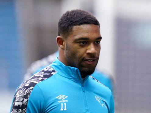 Derby winger Jordan Ibe has revealed that he is struggling with depression (John Walton/PA)