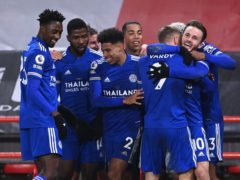 Leicester are top of the table and must be taken seriously as challengers for the Premier League title (Laurence Griffiths/PA)