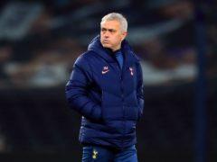 Tottenham manager Jose Mourinho (Adam Davy/PA)
