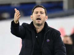Frank Lampard has criticised Premier League scheduling inconsistencies (Peter Powell/PA)