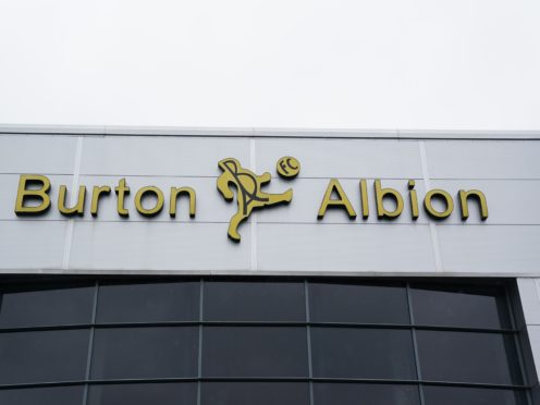Burton's next game has been called off (PA)