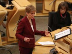 Nicola Sturgeon described Kay Ullrich as 'one of the most influential figures in my life' (Andrew Milligan/PA)