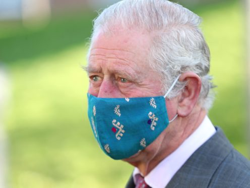 The Prince of Wales said he will 'absolutely' get vaccinated (Chris Jackson/PA)