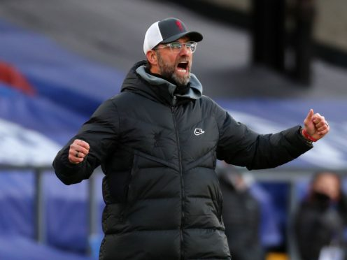 Jurgen Klopp said his Liverpool side were 'on fire' with their desire to fix a poor run of form (Clive Rose/PA)