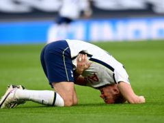 Harry Kane went off injured against Tottenham (Andy Rain/PA)